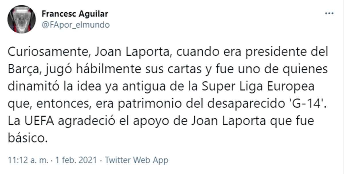 Tuit Francesc Aguilar