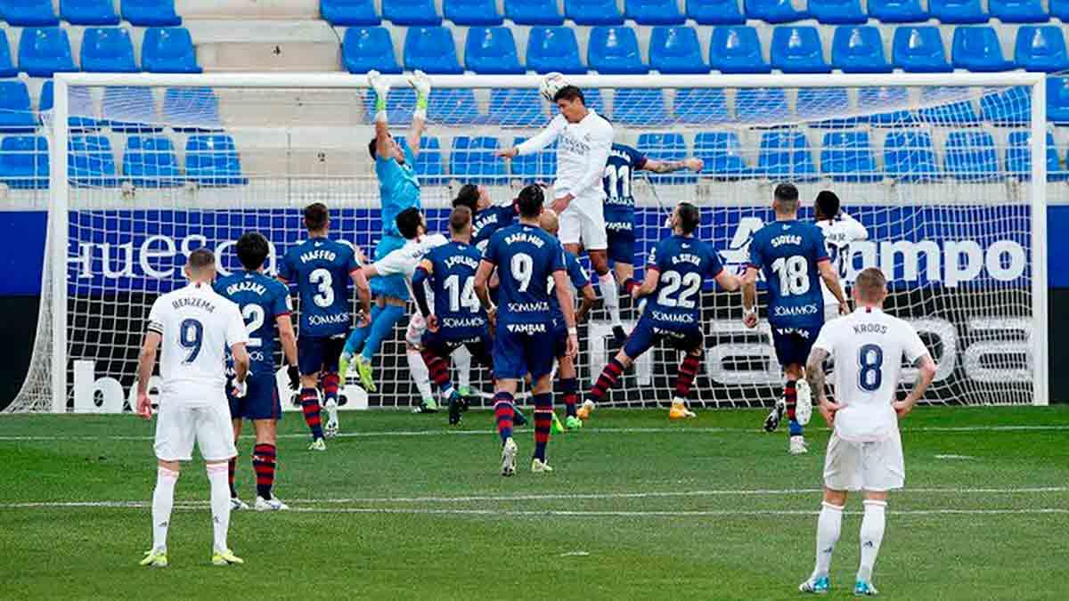 Varane gol Huesca