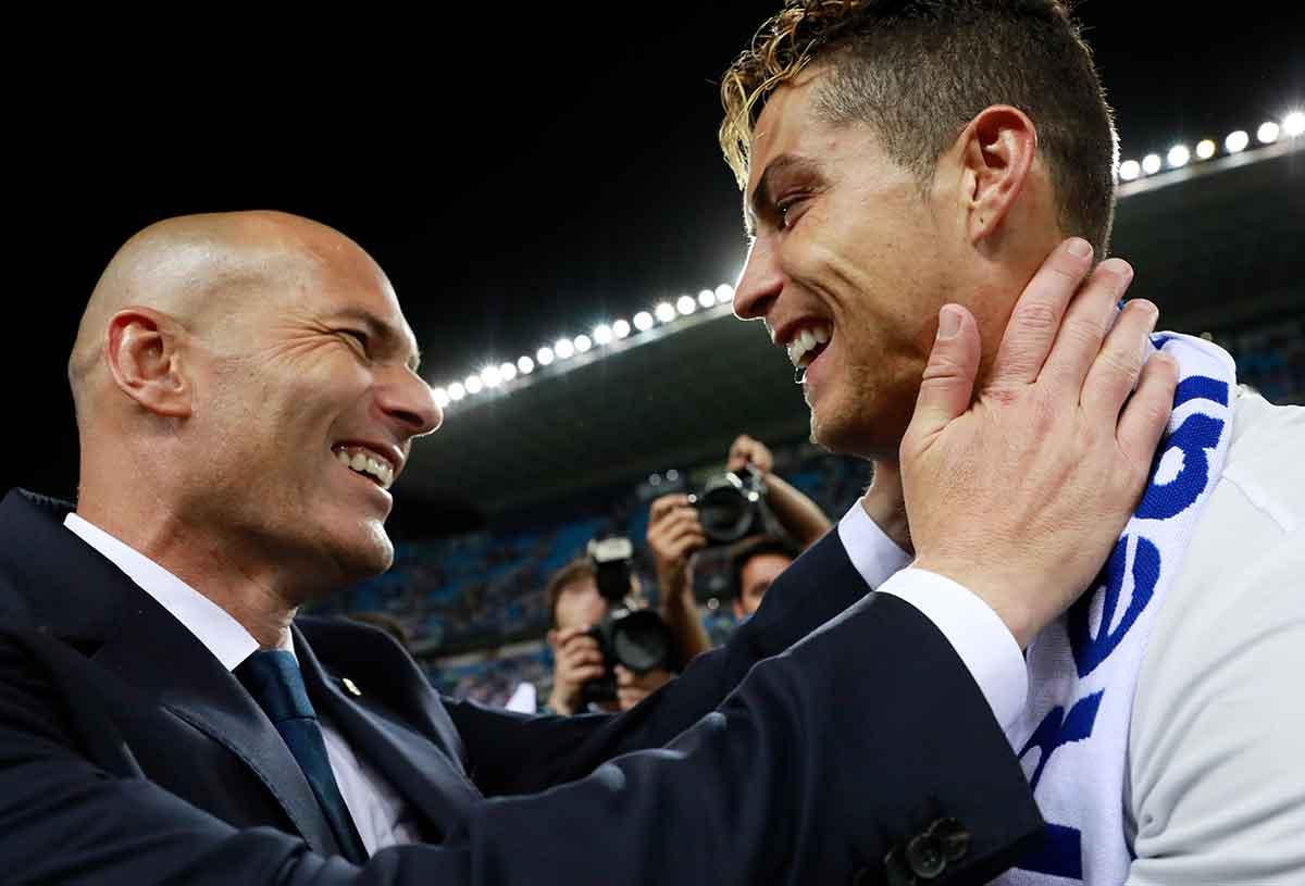 Zidane Cristiano Ronaldo Real Madrid