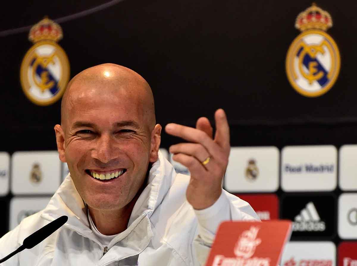 Zidane sonrisa Real Madrid