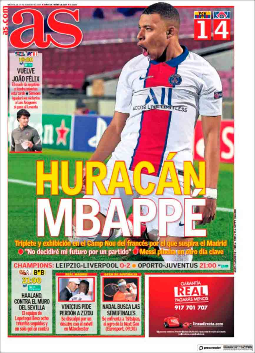 Portada AS Mbappé