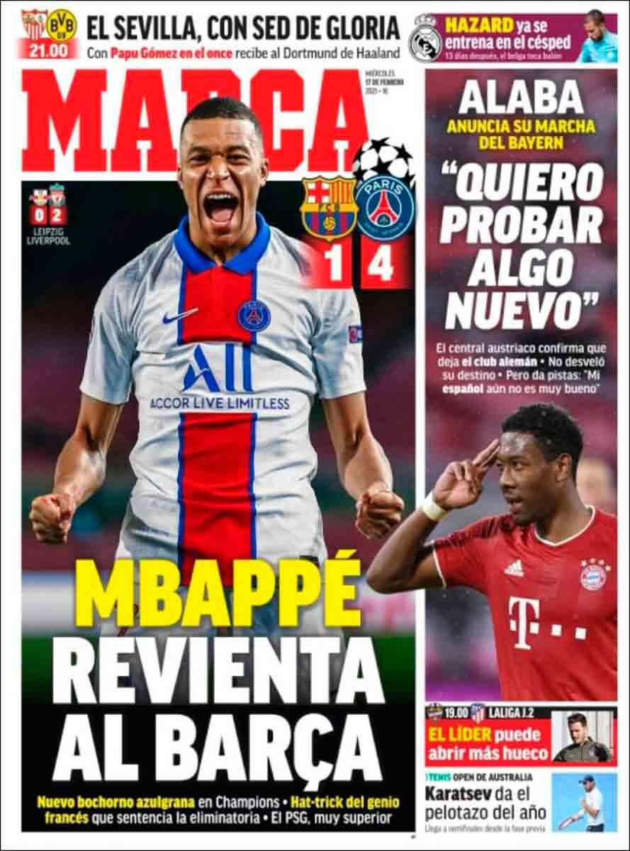 Portada Marca Mbappé