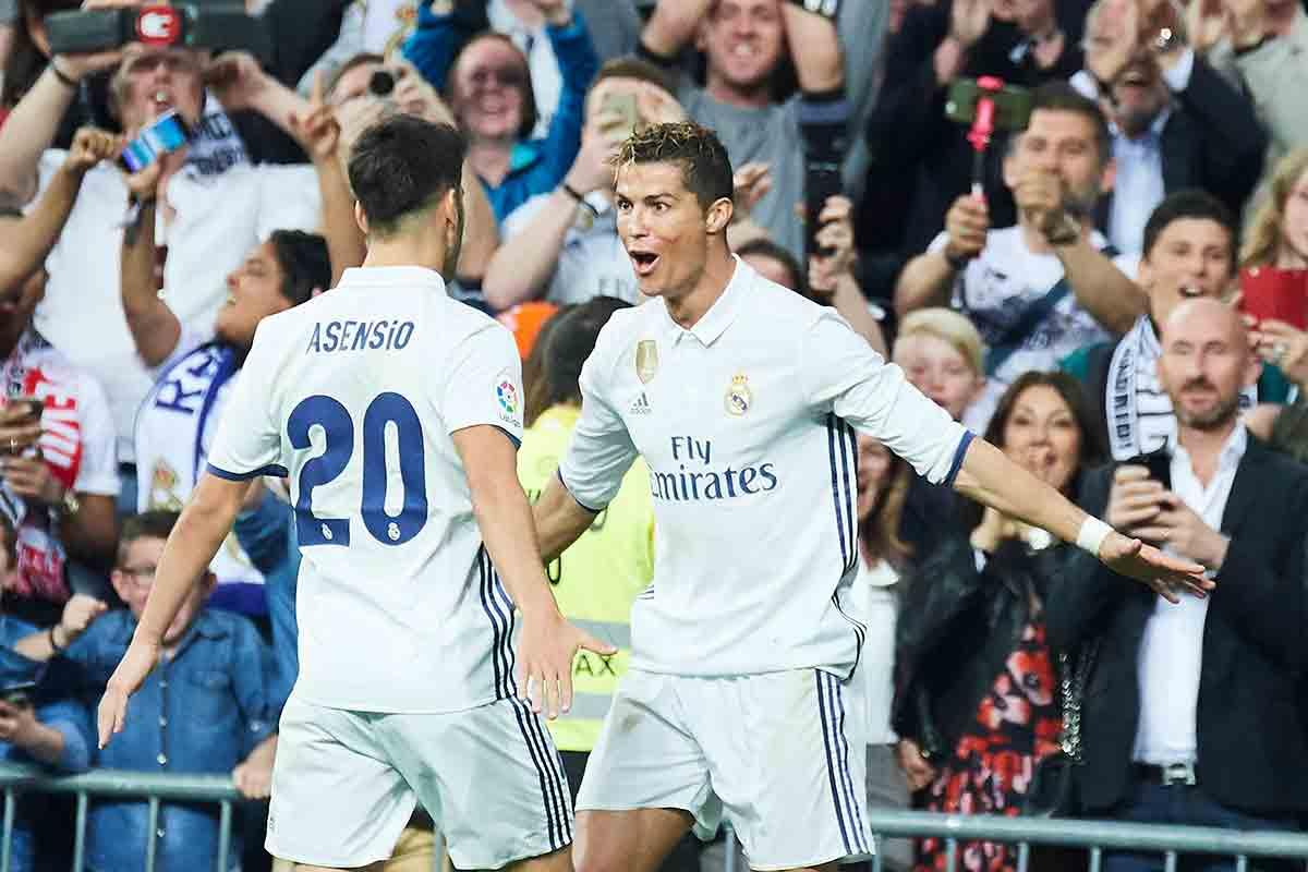 Asensio Cristiano Ronaldo