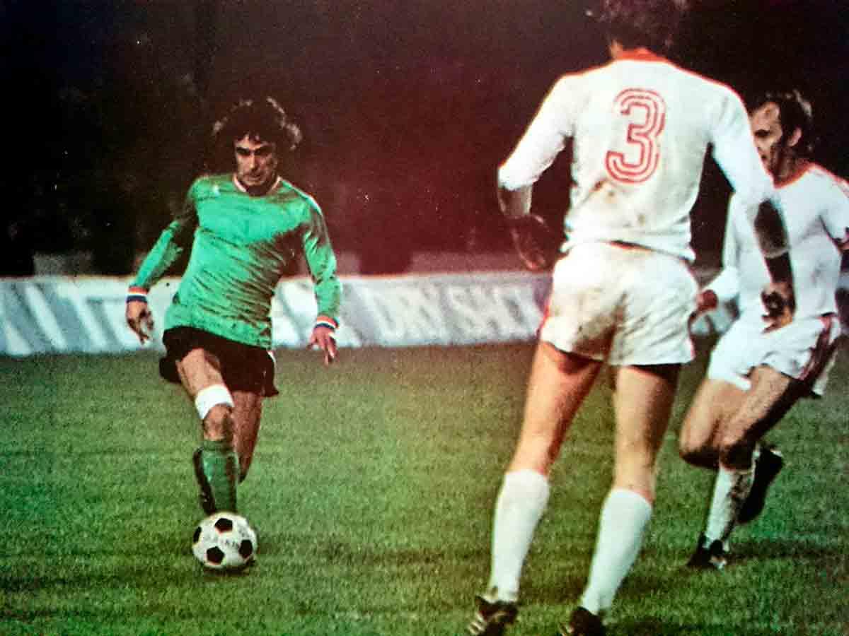 Dominique Rocheteau contra Bayern