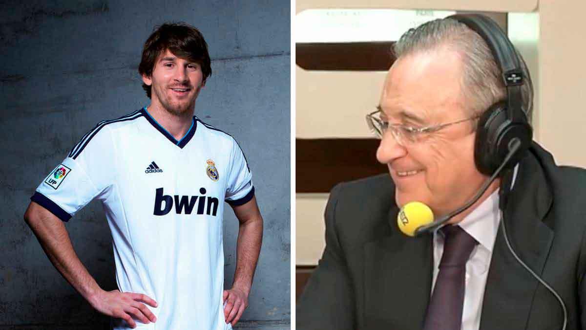 Florentino y Messi