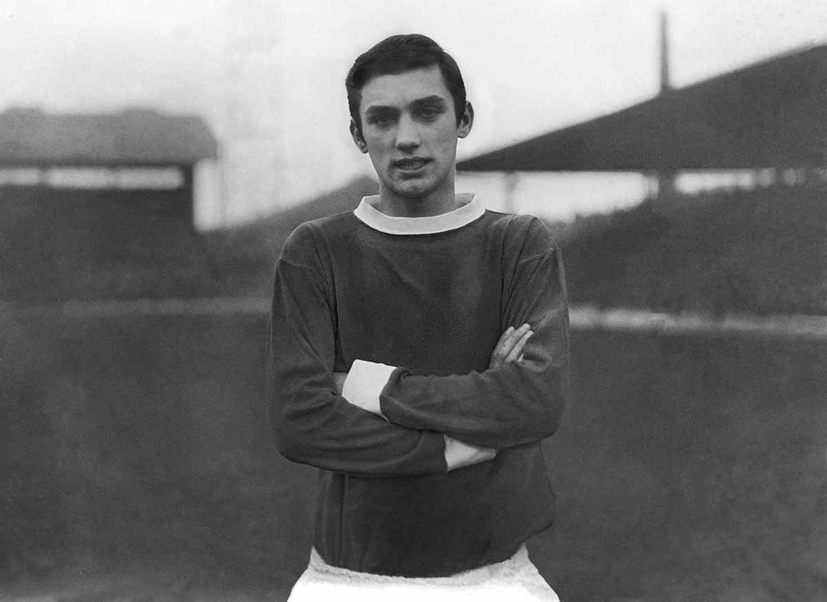 George Best joven