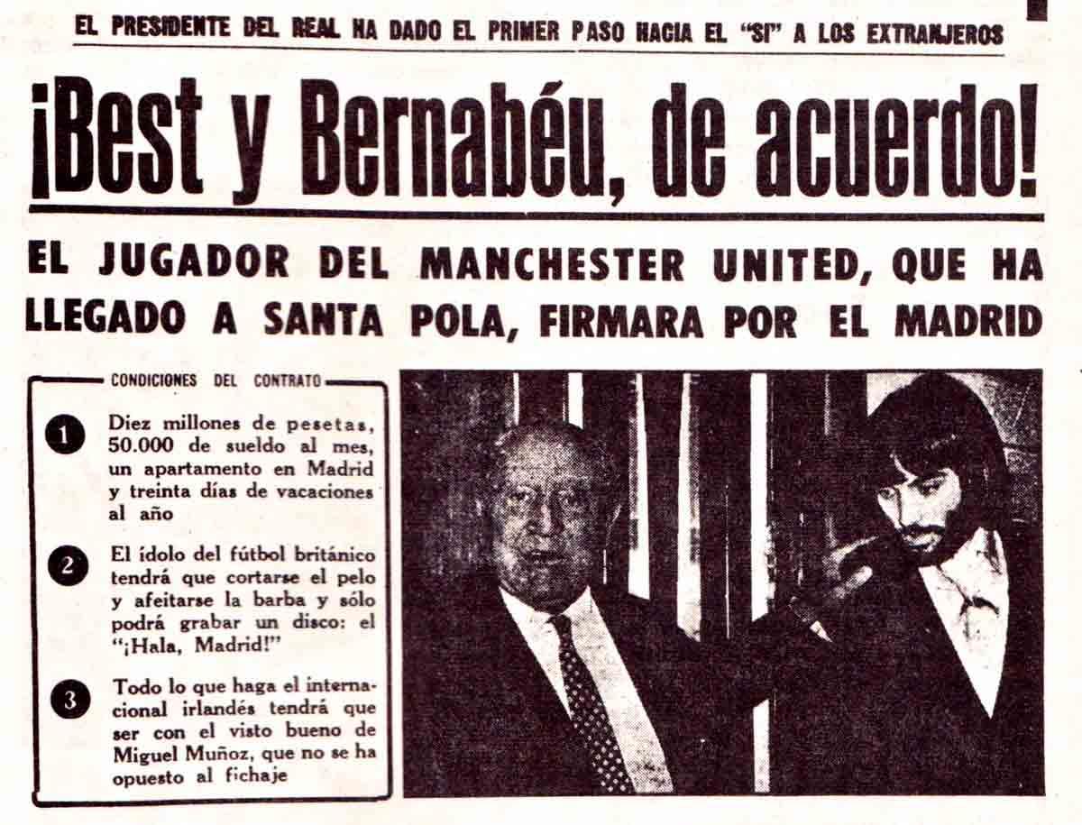 George Best Real Madrid