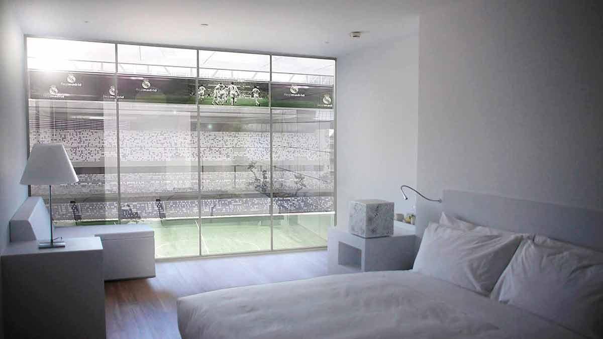 Hotel nuevo Bernabéu