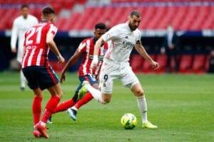 Karim Benzema Atlético de Madrid