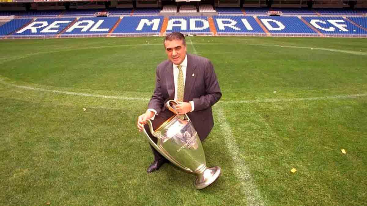 Lorenzo Sanz Champions Bernabéu