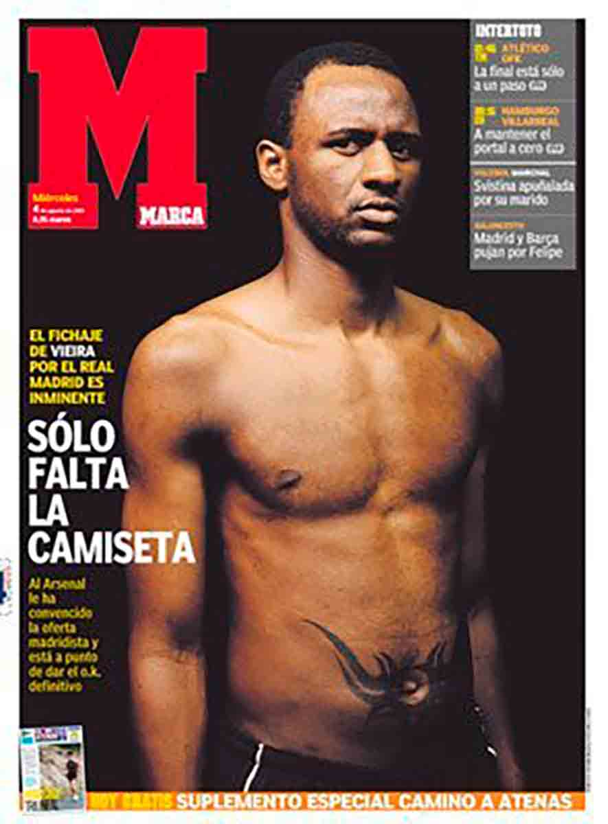 Marca Vieira Real Madrid