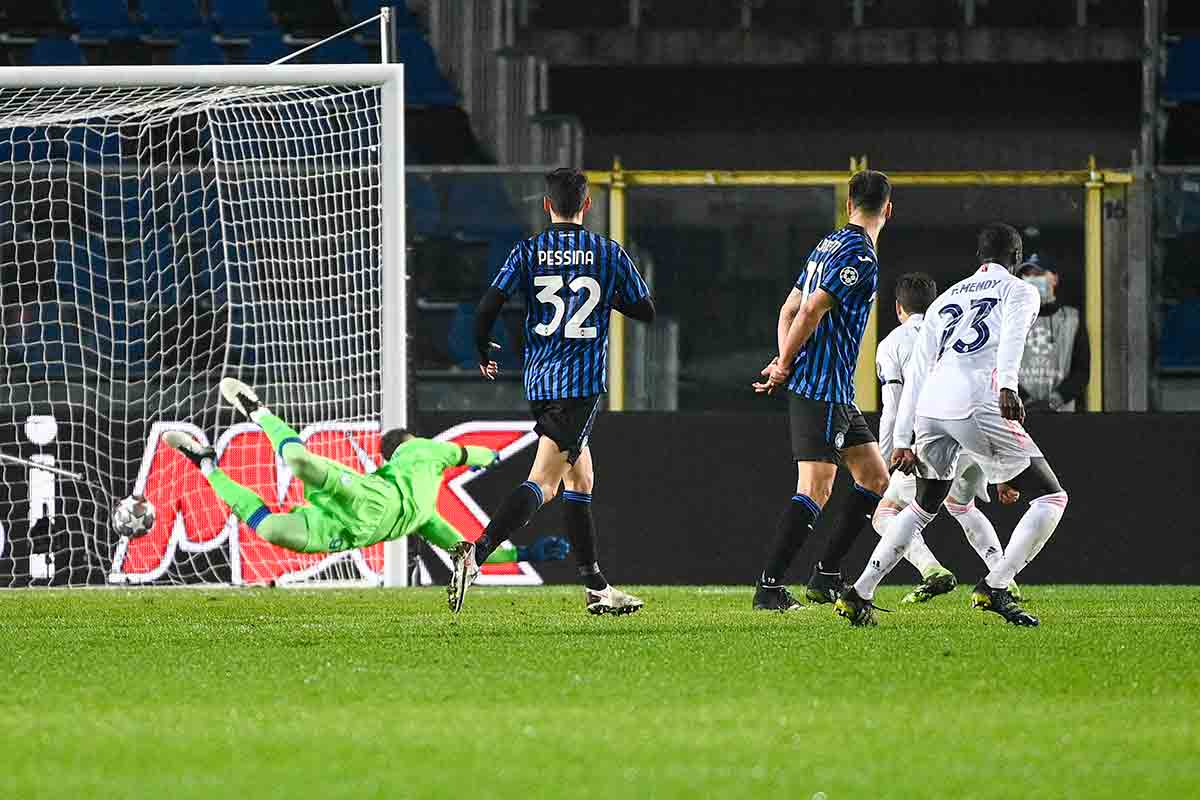 Mendy gol Bérgamo Atalanta
