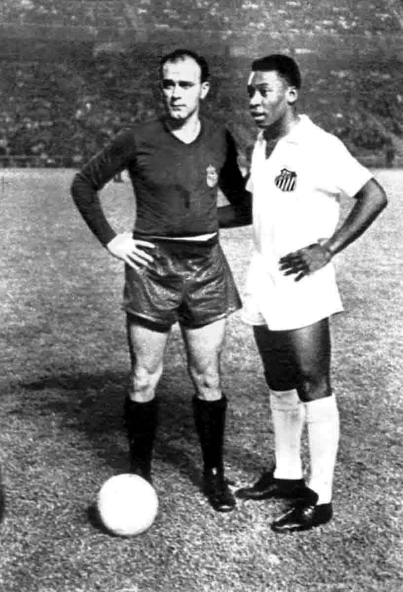 Pelé Di Stéfano