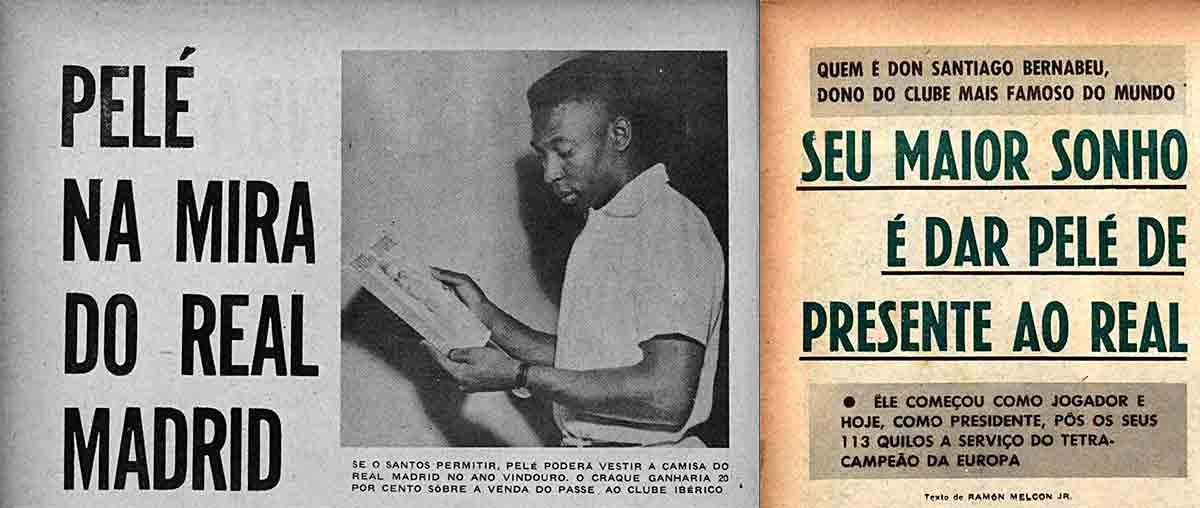 Pelé revistas 1959-1960