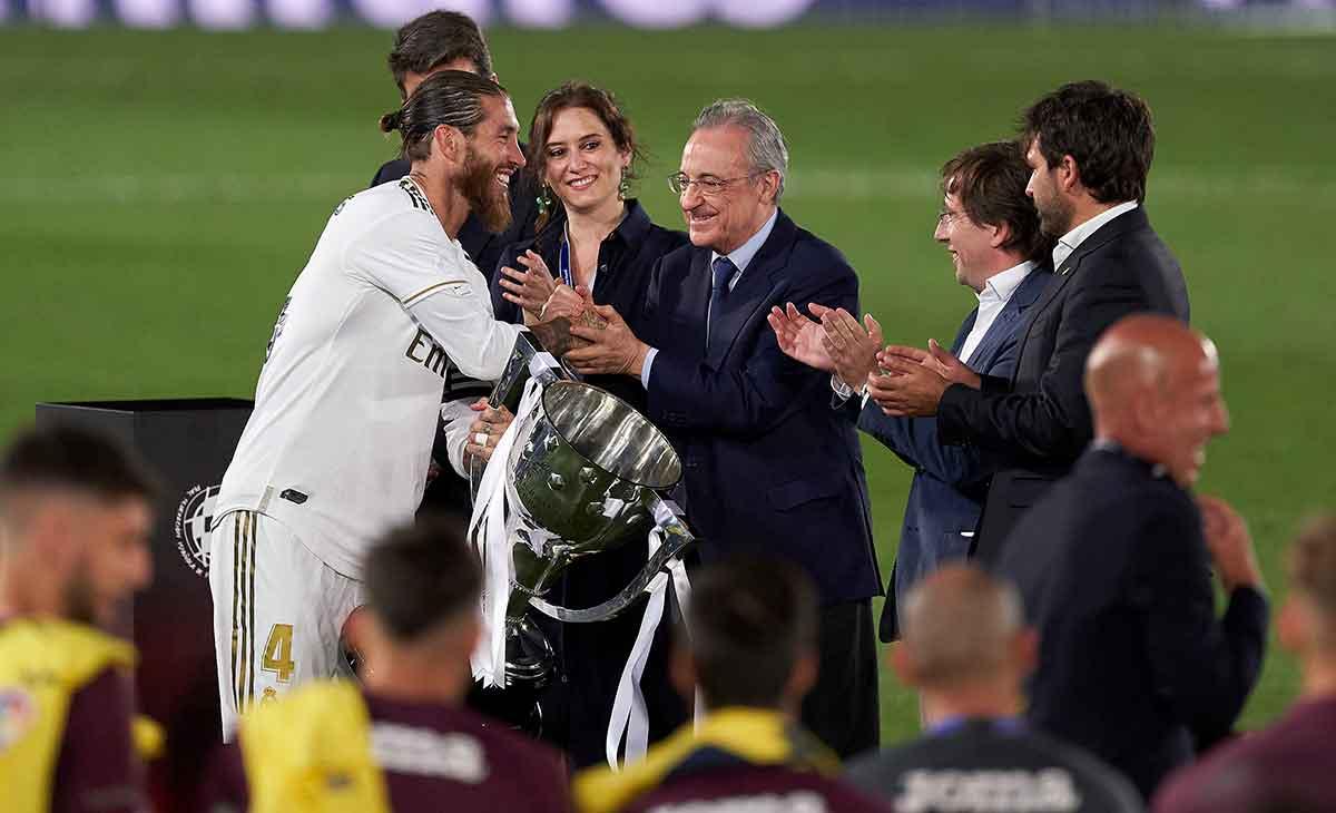 Ramos Florentino campeones Liga