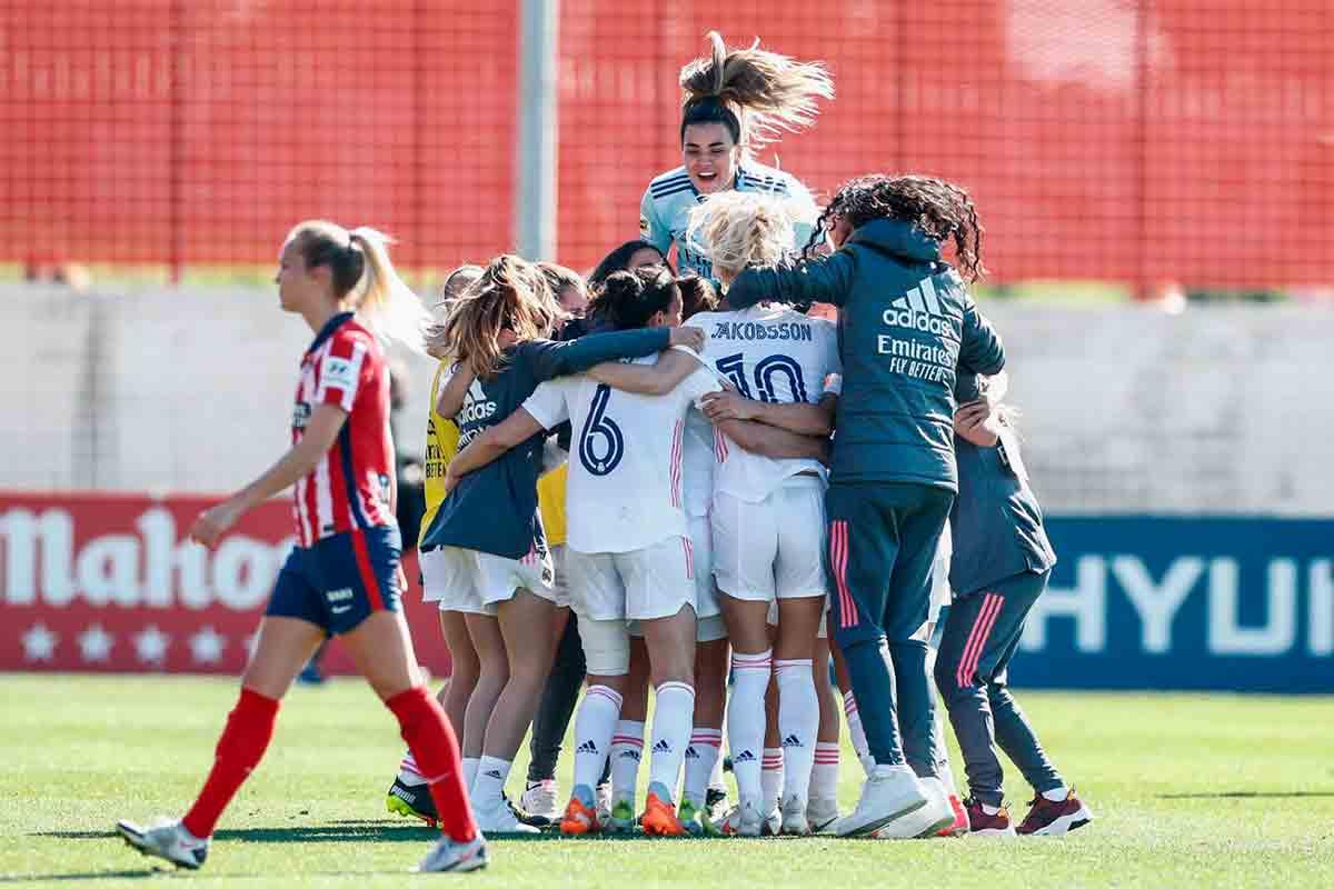 Real Madrid Atlético femenino
