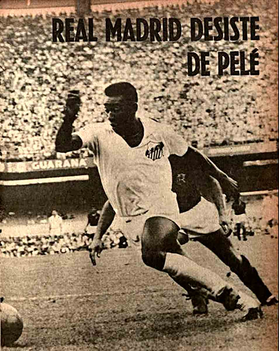 Real Madrid desiste de pelé