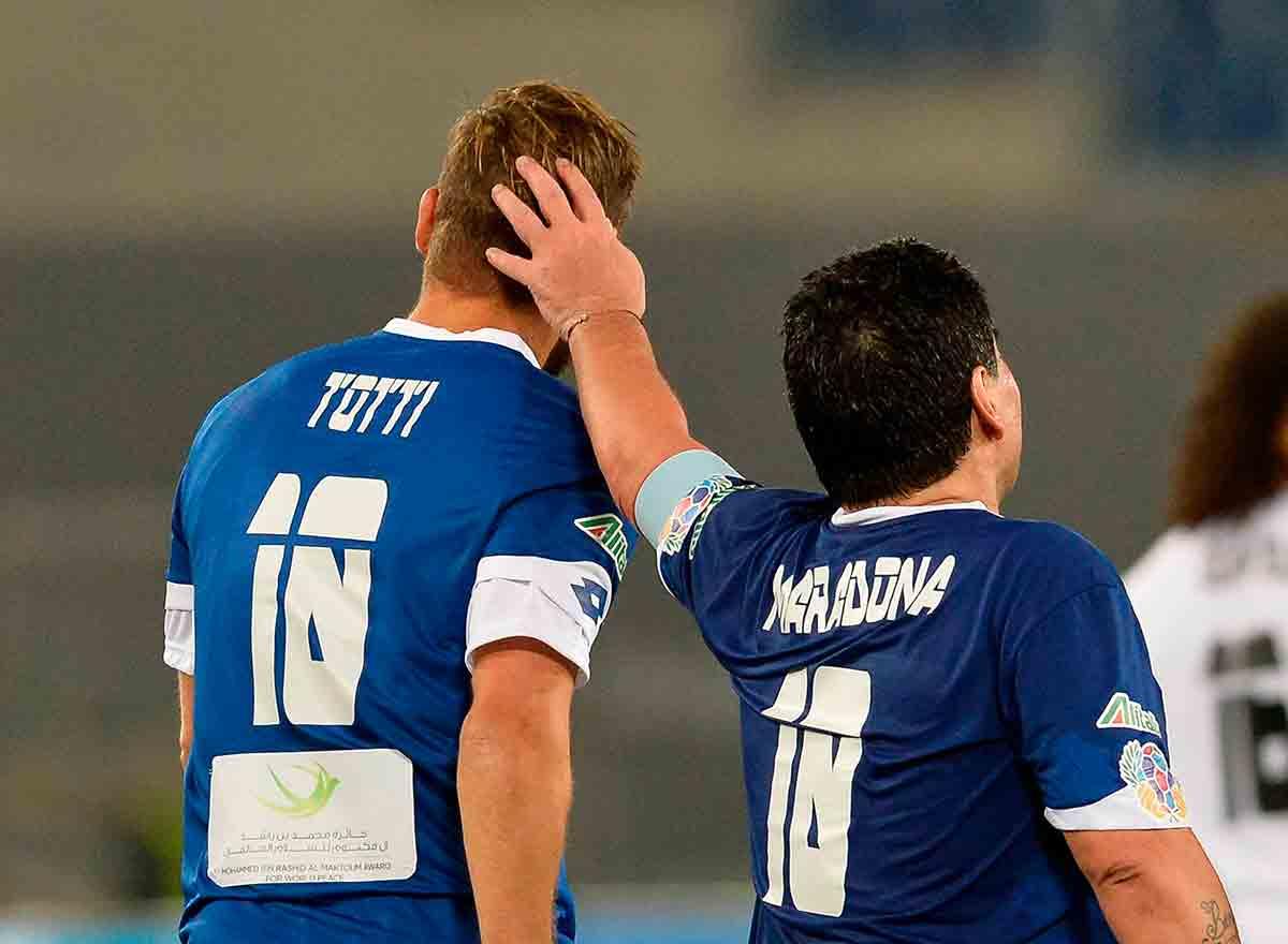 Totti Maradona