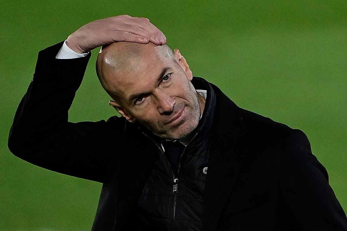 Zidane y el cambio intempestivo