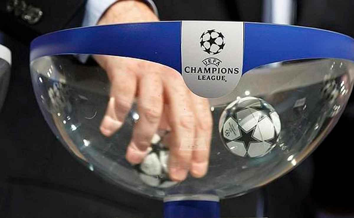 Sorteo Champions bolas calientes