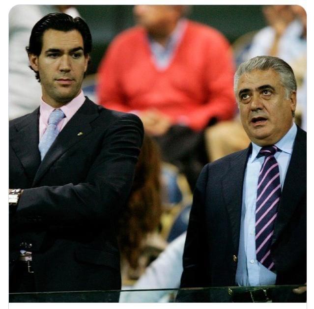 lorenzo sanz y su hijo