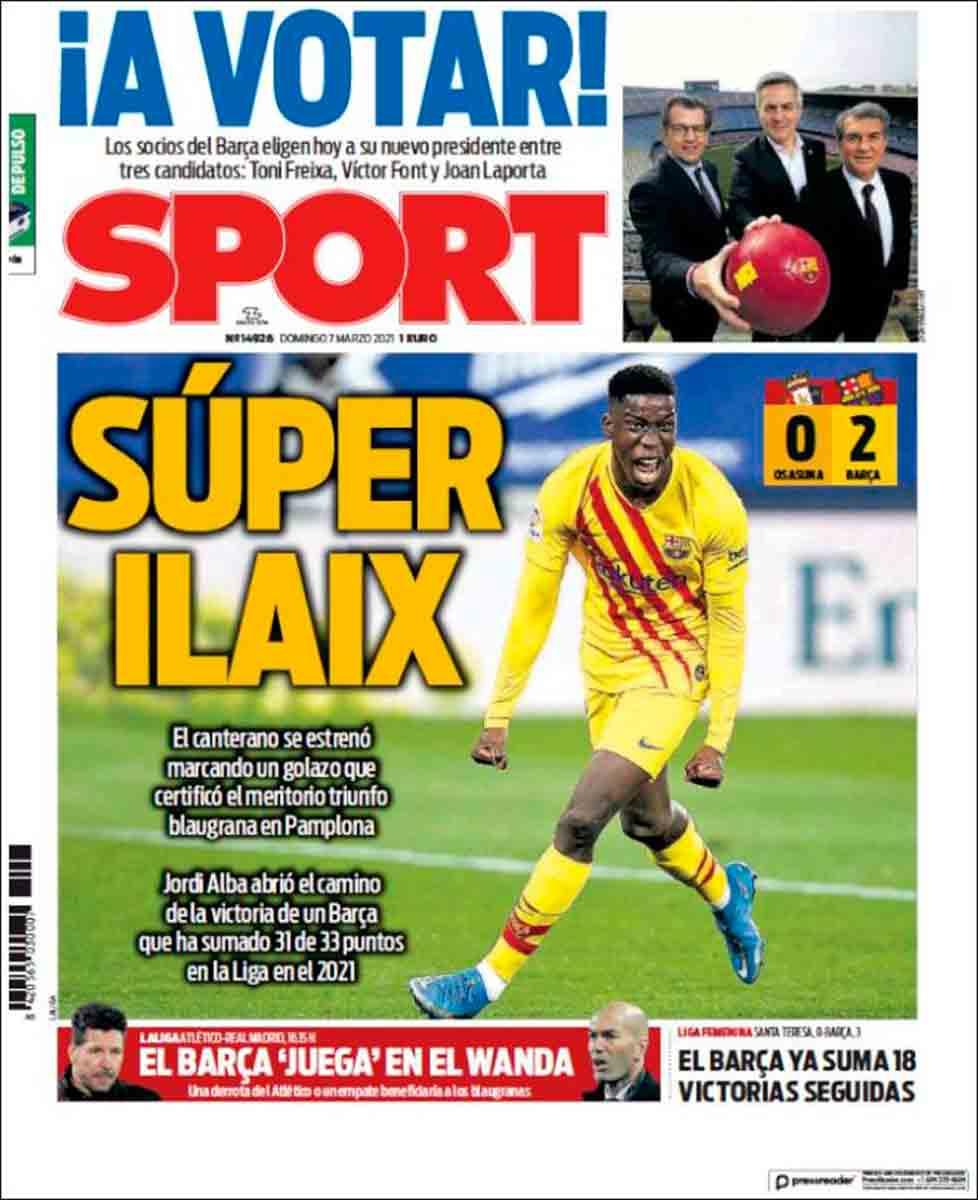 Portada Sport Ilaix