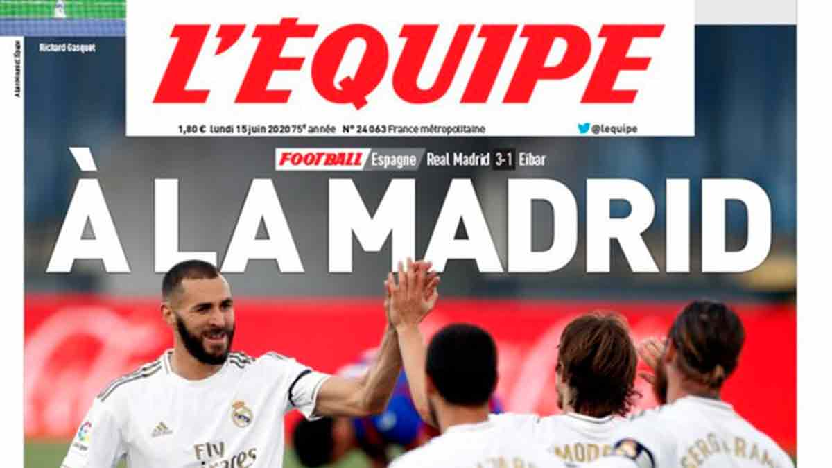 L'Equipe Real Madrid