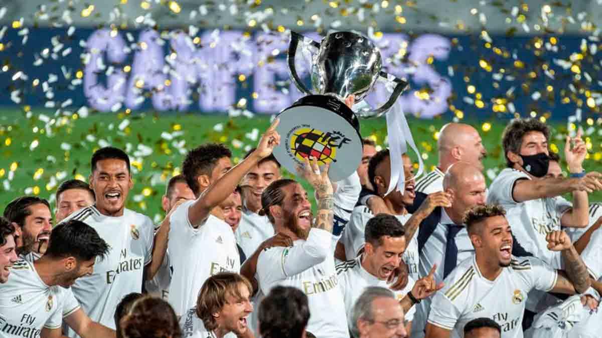 Real Madrid campeón Liga
