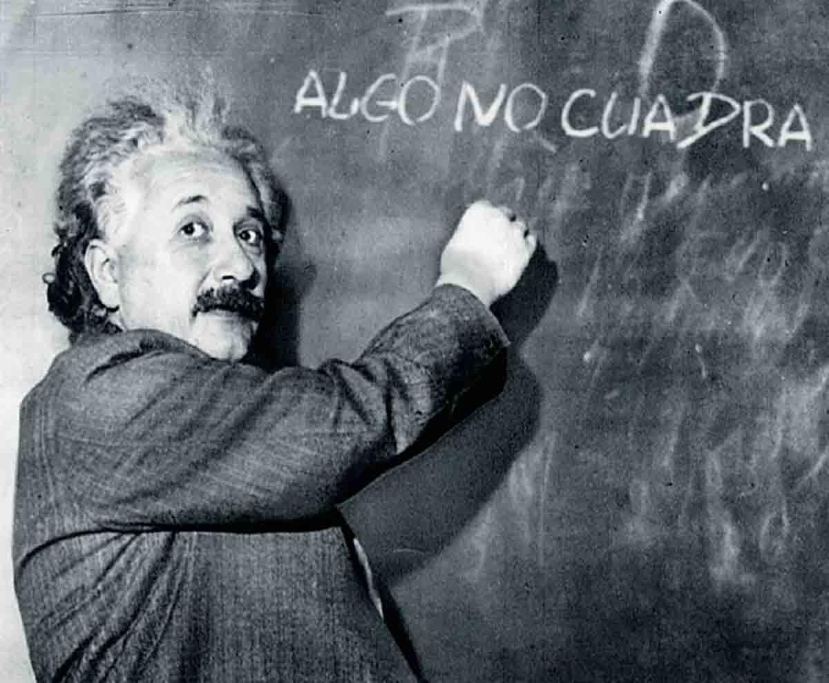 Einsteins anomalía estadística Real Madrid