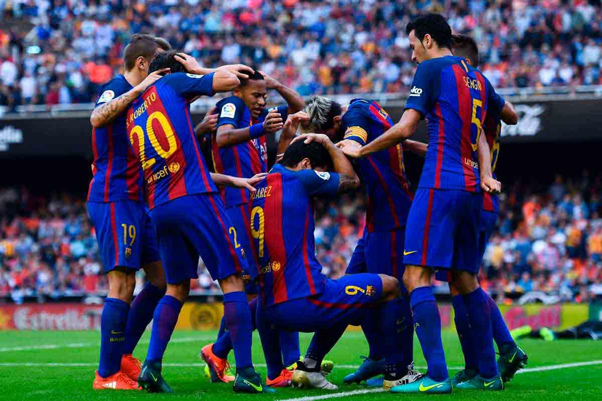 Botella de racimo Valencia Barcelona