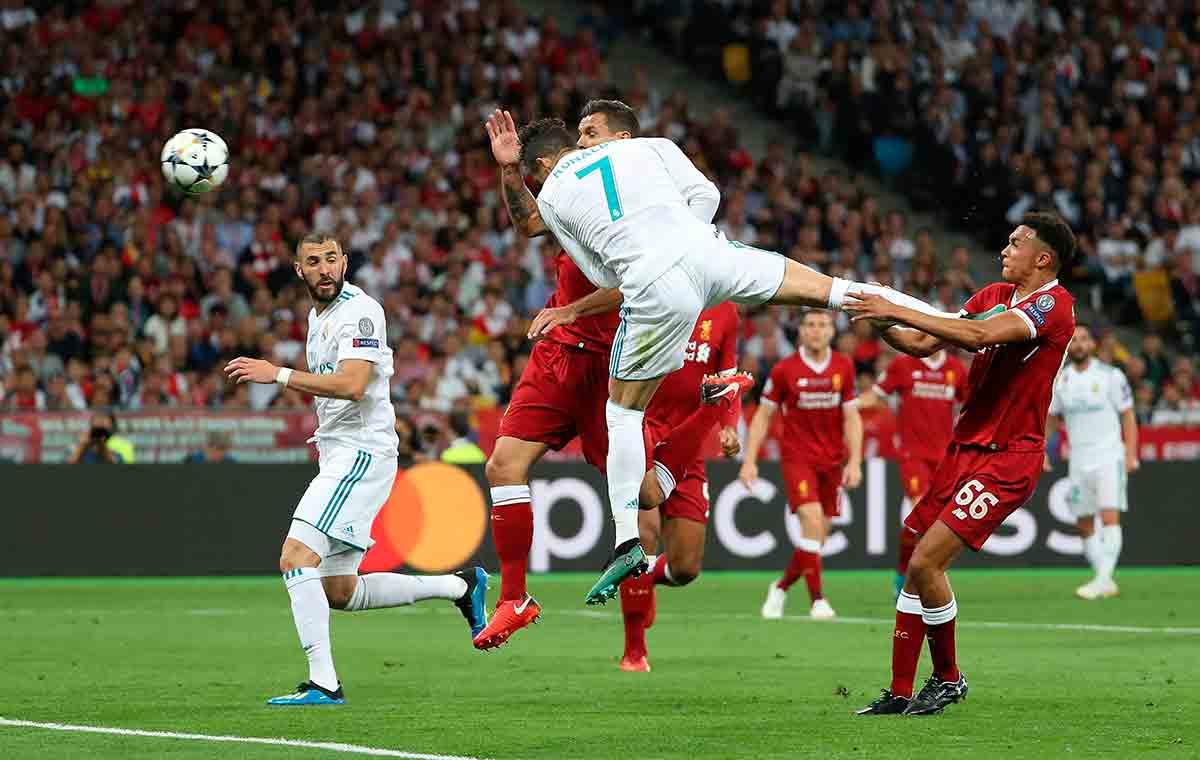 Cristiano Ronaldo Benzema Real Madrid Liverpool