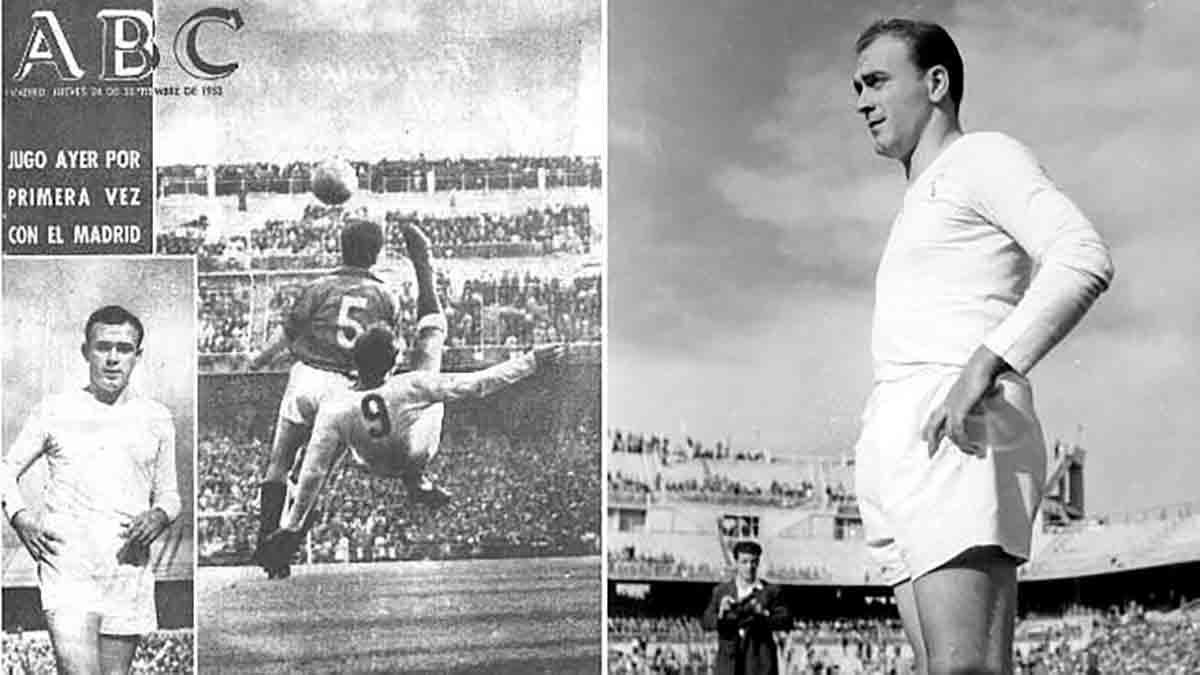 Debut Di Stéfano Real Madrid