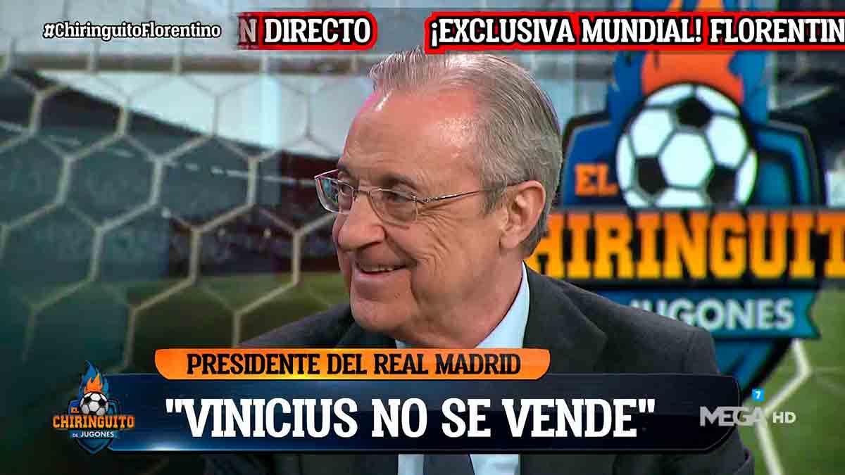 Florentino Chiringuito Vinicius