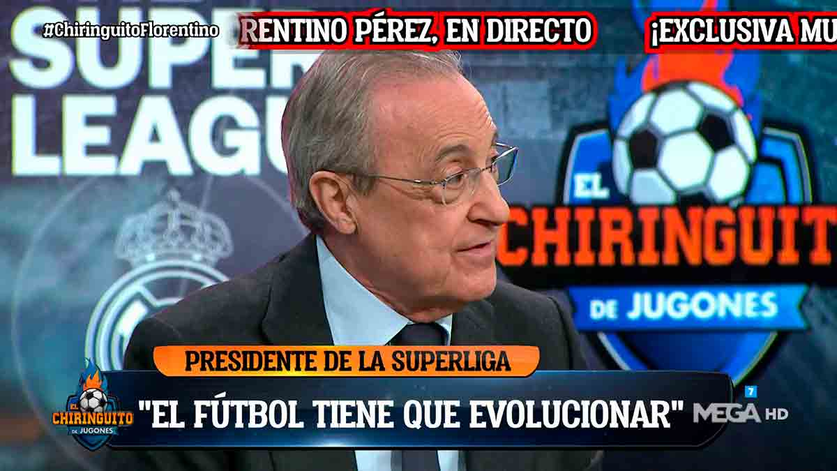 Florentino Chiringuito fútbol evolucionar