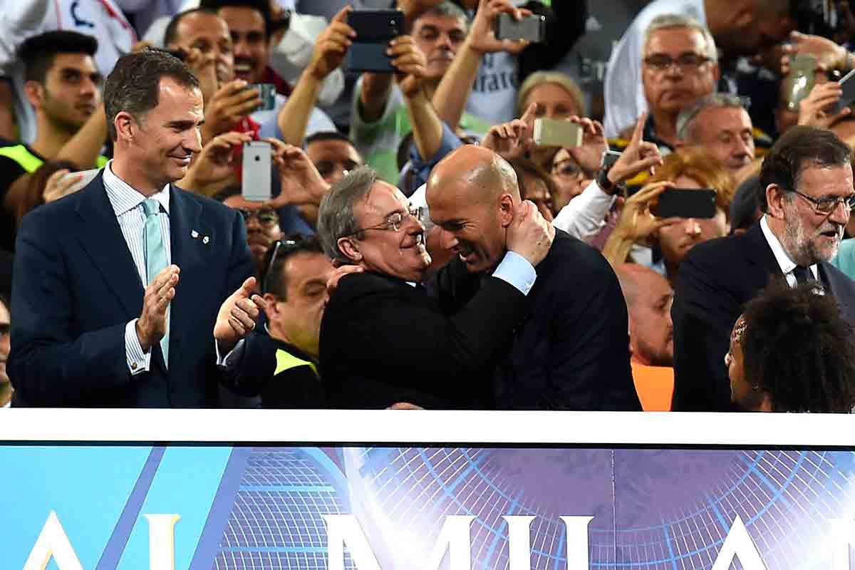 Florentino Zidane Rey Rajoy