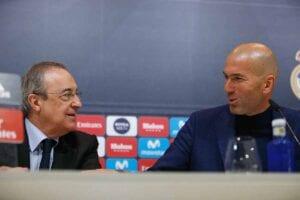 Florentino y Zidane, nacidos para el Real Madrid