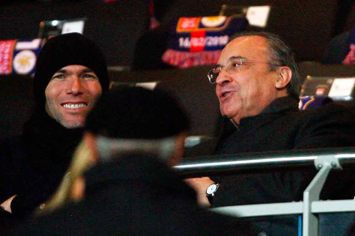Florentino y Zidane complicidad