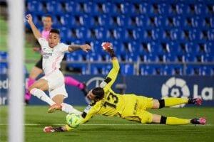 El gol de Mariano contra el Getafe