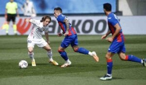 Luka Modric Real Madrid Eibar