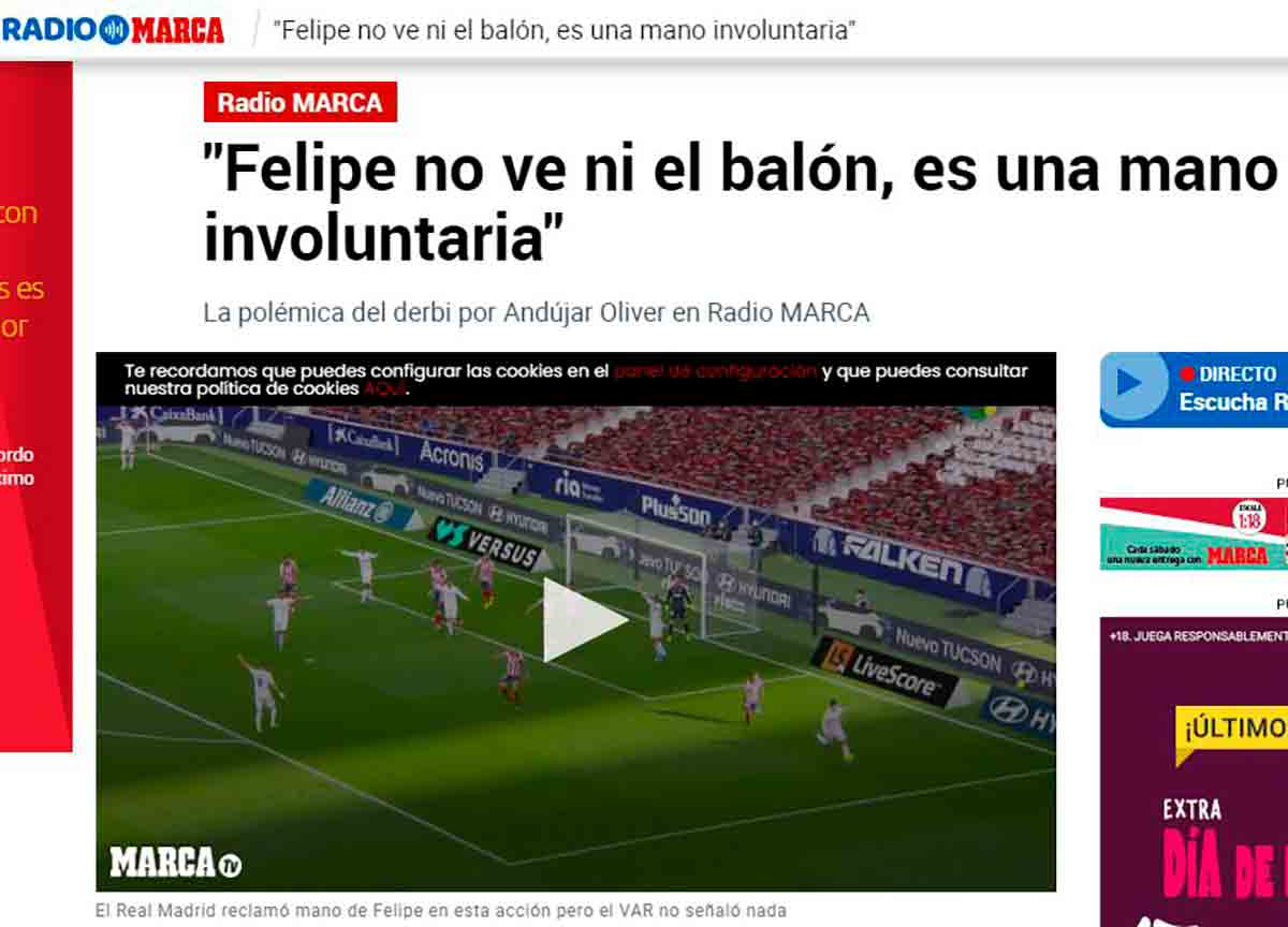 Mano Felipe Atleti