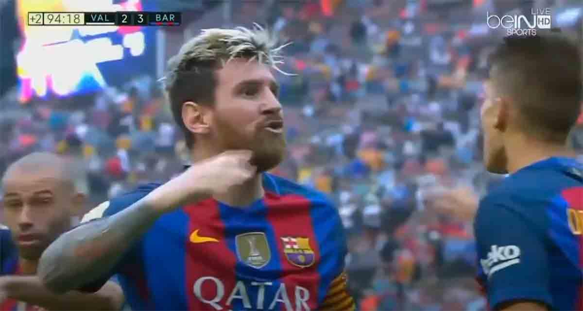 Messi garrulo