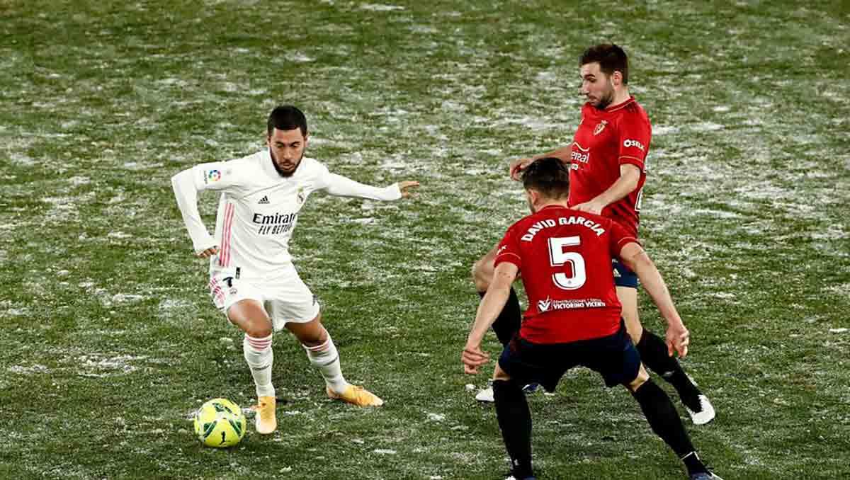 Hazard Osasuna Real Madrid