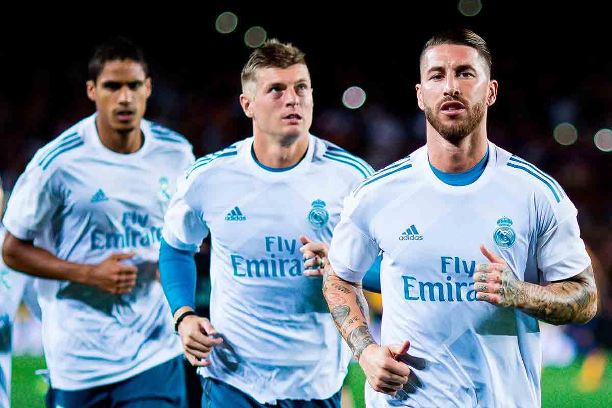Ramos Varane Kroos campeones del mundo