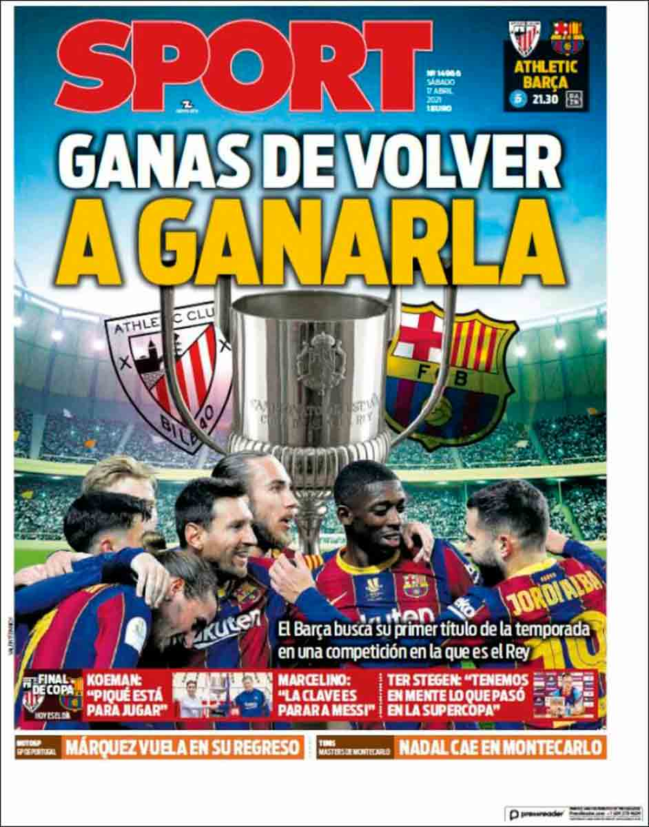 Portada Sport 17-04-21