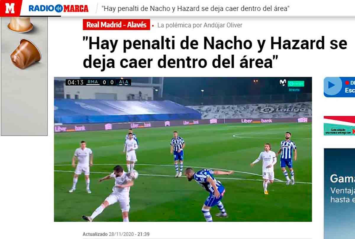 Mano Nacho Alavés
