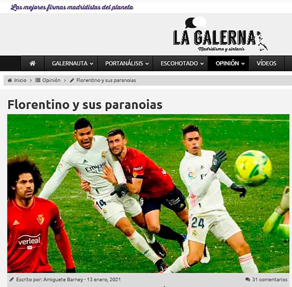 Florentino y sus paranoias