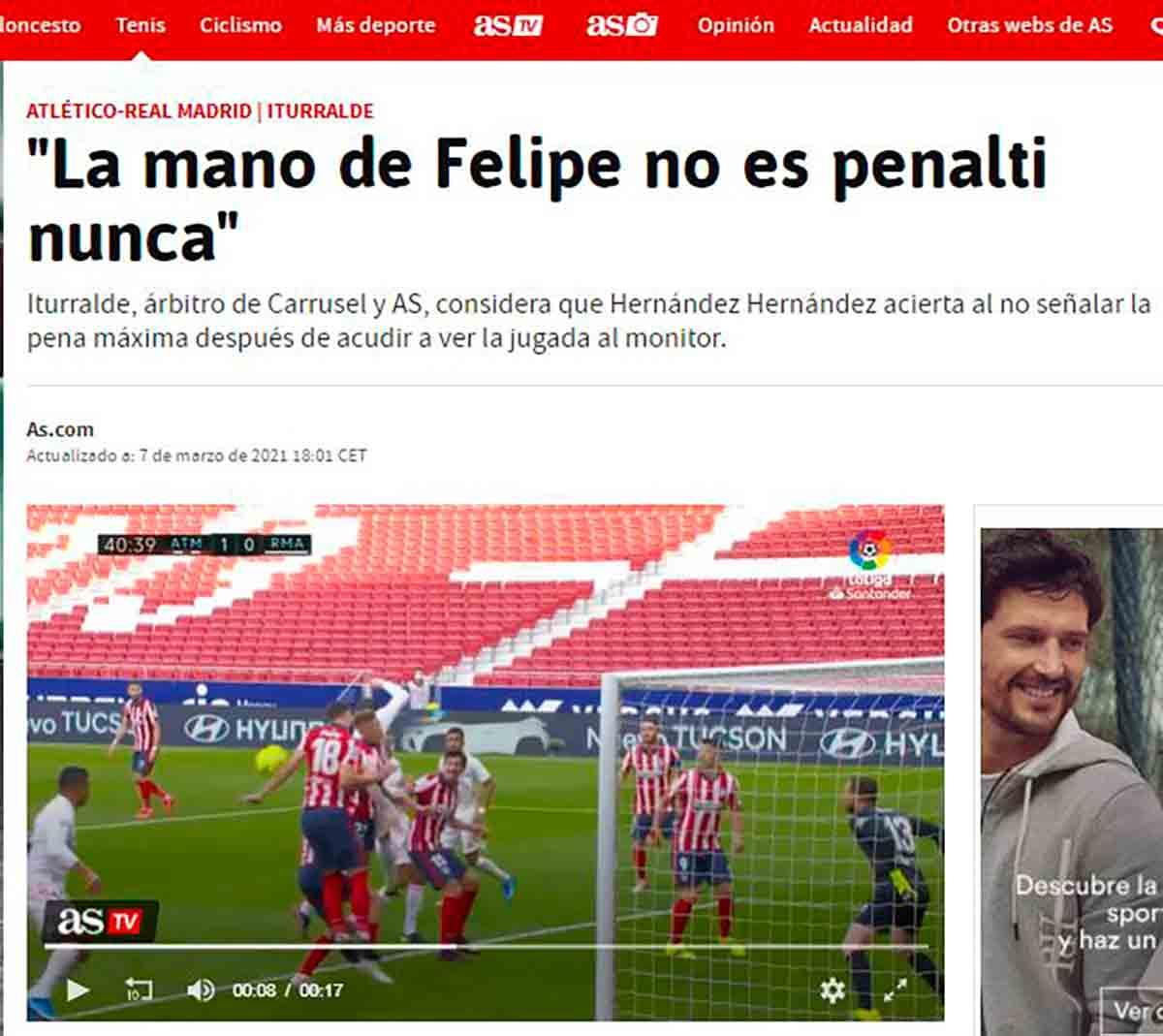 Mano de Felipe