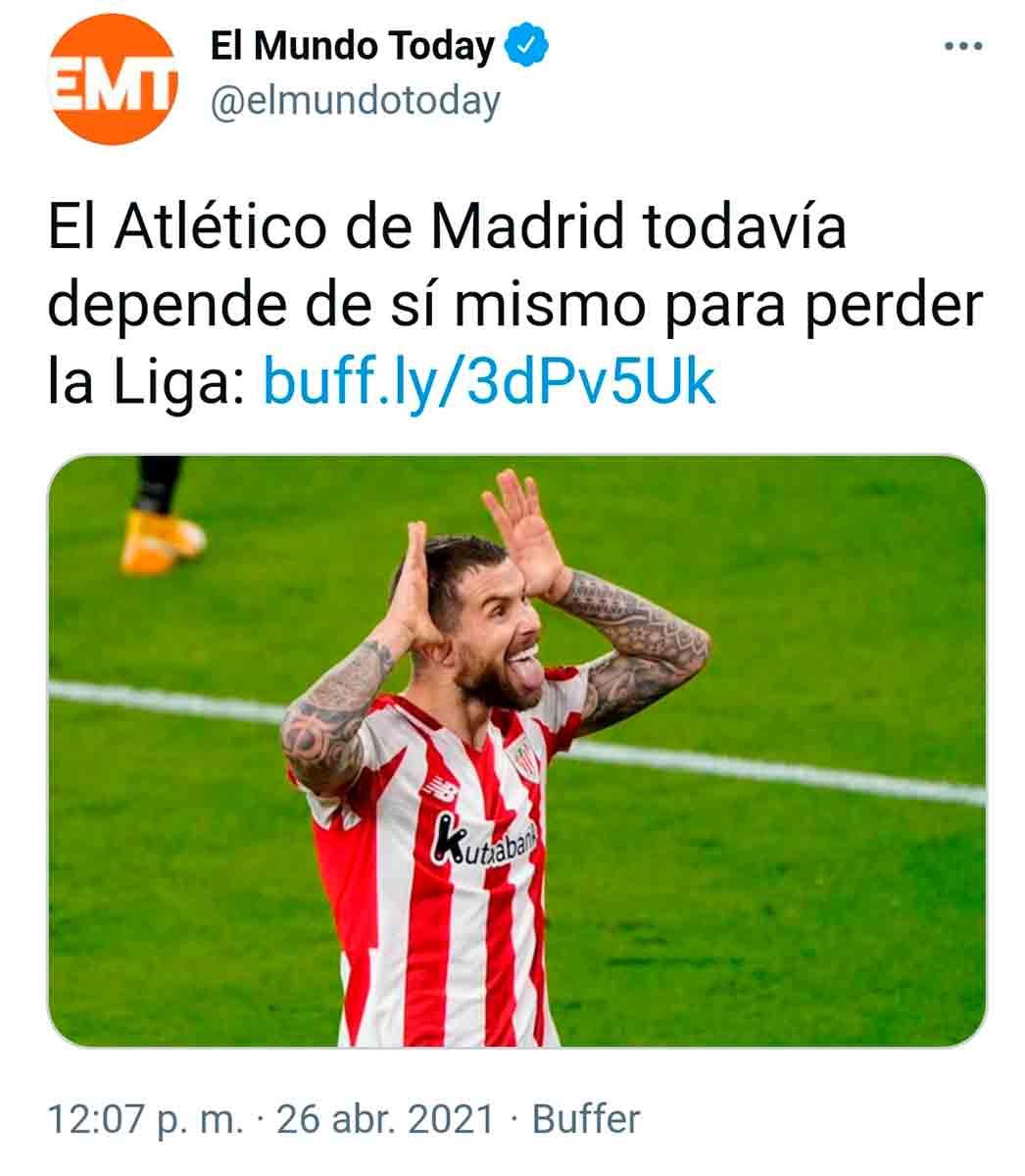 El Mundo Today Atleti