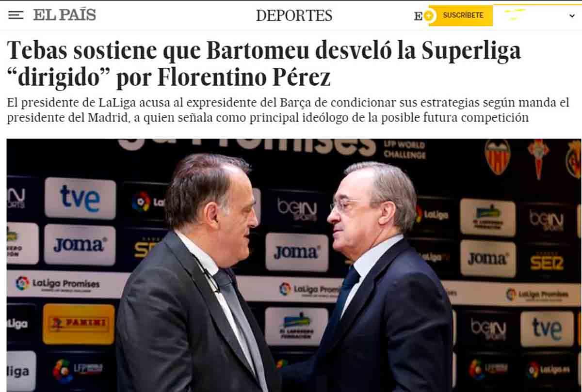 Tebas ataca a Florentino
