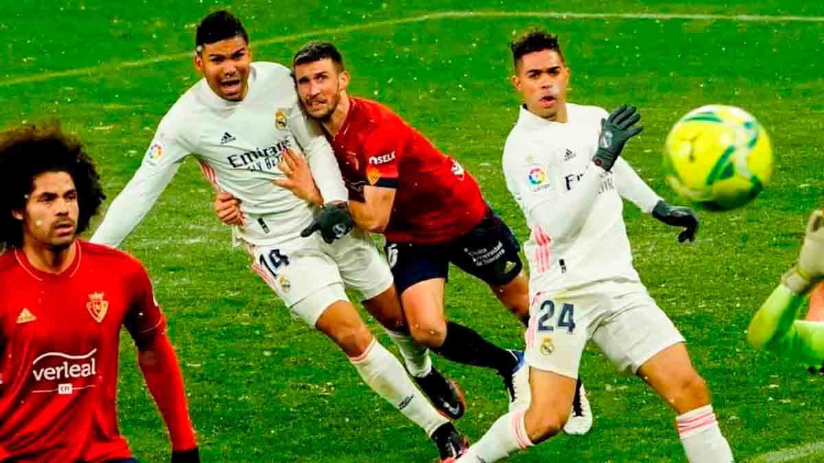Casemiro penalti Osasuna
